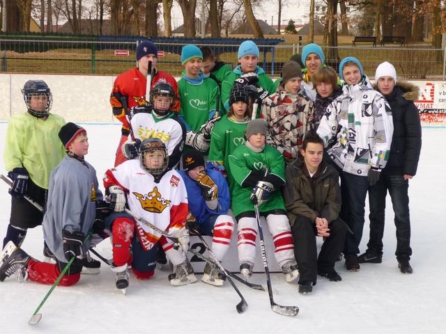 MINI Ľadový hokej 2012