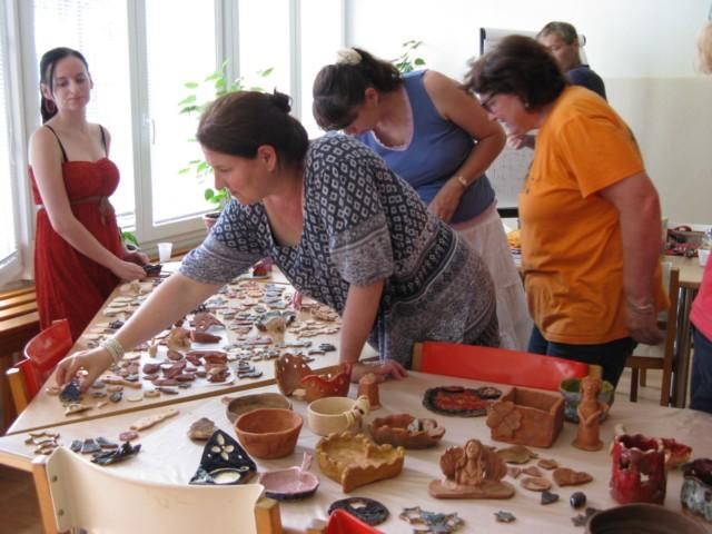 Letný kurz – glazované šperky, modelovanie z hliny