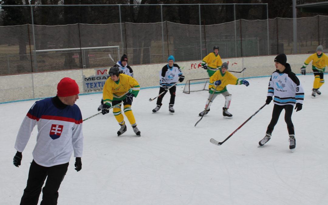 Mini-ľadový hokej o pohár primátora
